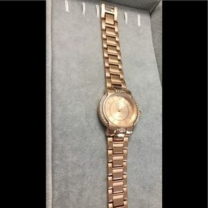 New NY & Co Rose Gold Watch